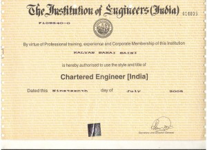 Charted Engineer